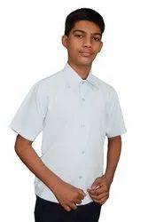 Polo Neck Plain Mens Cotton Shirts, KMP308, Handwash