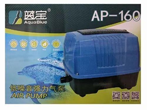 Plastic Aqua Blue Air Blower For Aquarium Size 32 X 26 X 25 Cm Rs 9800 Piece Id 22987603691
