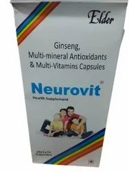 Multivitamin Capsules, Packaging Type: Box