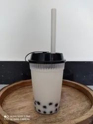 350 Ml Pp Glass For Boba/juice And Shake