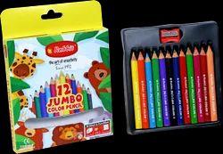 12 Shade Jumbo Color Pencil