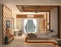 Golden Modular Wooden House Bedroom Furniture, Size: 1220 X 3660 Mm