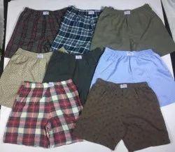 Thigh Length cotton Boxer Shorts