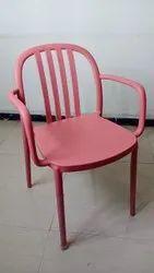 Pvc BLACK GREY RED Designer Cafeteria Chair