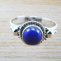 Designer 925 Sterling Silver Jewelry Lapis Lazuli Gemstone New Ring Wr-5013