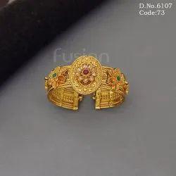 Female Traditional Openable Bracelet Kada, Party, Jewellery Type: Bangles