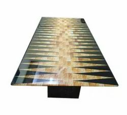 3x8 F Toughened Printed Glass, For Home,Office etc