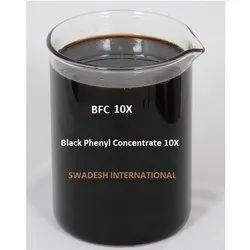 黑色液体苯基浓缩物,地板,可以