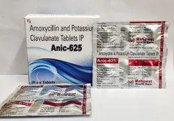 Amoxicillin and Potassium  Clavulanate tablets IP