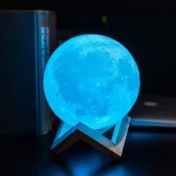 Table Lamps Modern/Contemporary 3D LED Moon Lamp, For HOME & DECORATION
