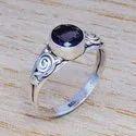 925 Sterling Silver Handmade Emerald Gemstone Ring