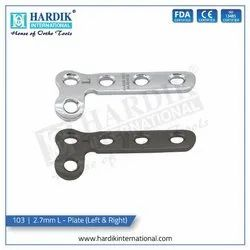 2.7mm L - Plate (Left & Right)
