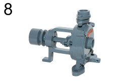 Akshar cooling water circulation pumps, 1 HP