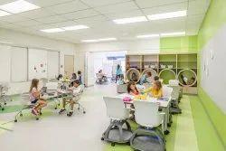 1 Year School Interior Designing Service