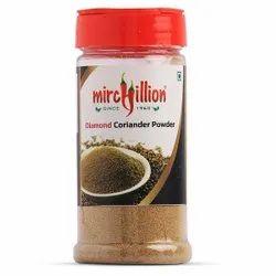 Mirchillion Green Coriander Powder Trendy Bottle Pack 50gm