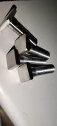 Stainless Steel Square Bolts, For Construction, Material Grade: SS304