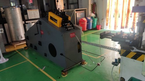 Coil Cradle Straightener Machine