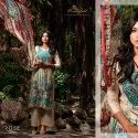 Jam Satin Digital Print With Embroidery Unstitched Suit -10 Pcs  Set