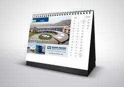 Upto 1 Week Paper Desk Calendar Printing Services, in Pan India