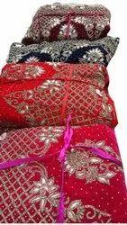 Party Wear Ladies Fashion Velvet Embroidered Lehenga