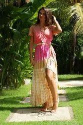 Women Tie Dye Maxi Dress