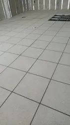 Steel Cementitious Raised Flooring, Thickness: 35mm, Size: 600mm X 600mm