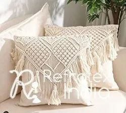 Natural Classic Macrame Cushion Cover