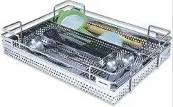 Perforated Kitchen Cutlery Basket