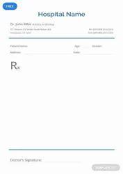 Paper Dr. Prescription Pad