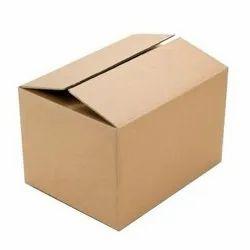 Brown Rectangular 3 Ply Corrugated Carton Box, Weight Holding Capacity (Kg): < 5 Kg