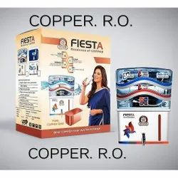 Fiesta RO UV Water Purifier, For Domestic, Model Name/Number: Copper