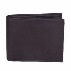 Hawai Contemporary Design Brown Non Leather Wallet For Men (8 Card Slots)