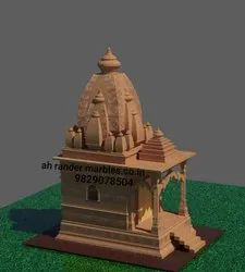 Stone temple Construction
