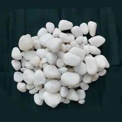 White Tumbled Stones