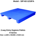 Plastic Pallets 2 Way Entry - H Series