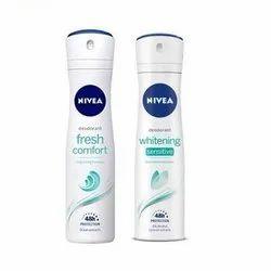Nivea Fresh Comfort and Whitening Sensitive 48Hrs Deodorant Spray - For Women  (150 ml, Pack of 2)