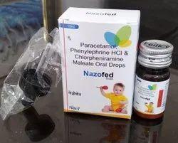 Paracetamol 125mg Phenylephrine 2.5mg CPM 1mg With Monocarton