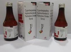 Cyproheptadine2mg,Tricholine275mg With Sorbitol For Hospitals,Nursing Homes&Doctors