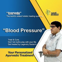 Unisex Ayurvedic Treatment For Blood Pressure