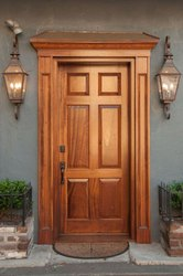 Exterior Membrane Door