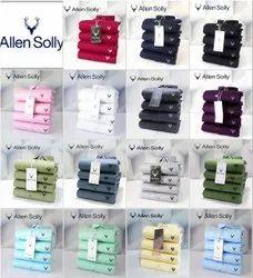 Cotton Fabric Full Sleeve Allen Solly Plain Shirts, Size: Size M38 L40 Xl42 Xxl44