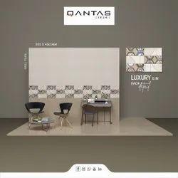 Glossy Rectangular Ceramic Digital Wall Tiles, Thickness: 5-10 mm