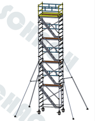 Aluminium Mobile Scaffold - D10