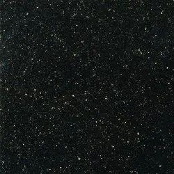 Plain Black Granite Slab, For Kitchen,Flooring, Thickness: 17 mm