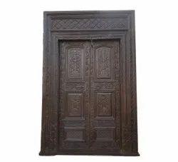 Wooden Handicraft Carved Door