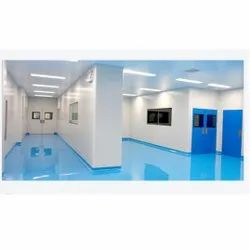 Modular Clean Room Partition