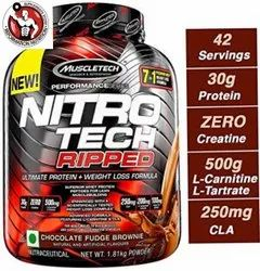 Muscletech Nitrotech Protein Ripped, 1.81 Kg, Treatment: Weight Loss