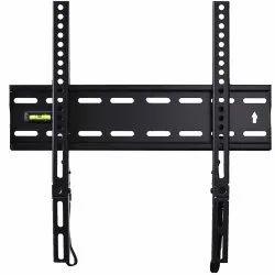 Black Mild Steel LCD Plasma TV Stand, For Home