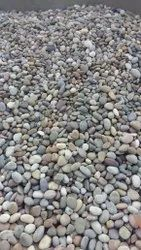 Round Polished Natural Pebbles Stone, For Landscaping, Pavement