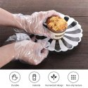 Disposable Transparent  Plastic Gloves